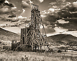 Mine ruins at Victor, Colorado