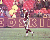 Washington Redskins Redskin quarterback Tony Banks (12) walks off the field after being injured in the fourth quarter against the Arizona Cardinals at FedEx Field in Landover, Maryland on January 6, 2002. The Redskins won the game 20 - 17.<br /> Credit: Arnie Sachs / CNP