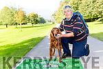 Richard Clancy and his dog Rua