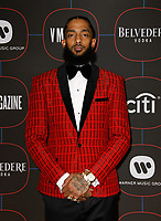 LOS ANGELES, CA - FEBRUARY 07: Nipsey Hussle attends the Warner Music Pre-Grammy Party at the NoMad Hotel on February 7, 2019 in Los Angeles, California.     <br /> CAP/MPI/IS<br /> &copy;IS/MPI/Capital Pictures