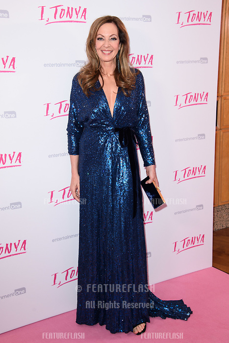 "Alison Janney at the ""I, Tonya"" premiere at the Curzon Mayfair, London, UK. <br /> 15 February  2018<br /> Picture: Steve Vas/Featureflash/SilverHub 0208 004 5359 sales@silverhubmedia.com"