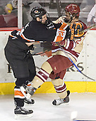 Mike Moore, J.D. Corbin - The Princeton University Tigers defeated the University of Denver Pioneers 4-1 in their first game of the Denver Cup on Friday, December 30, 2005 at Magness Arena in Denver, CO.