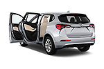Car images close up view of a 2019 Buick Envision Preferred FWD 5 Door SUV doors