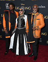 "09 July 2019 - Hollywood, California - John Kani. Disney's ""The Lion King"" Los Angeles Premiere held at Dolby Theatre. Photo Credit: Birdie Thompson/AdMedia"