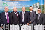 Pictired at the Kerry Airport AGM at the Earl of Desmond on Friday were John O'Sullivan, Denis Cregan, Chairman, Peter Moore Manager Kerry Airport, Denis Murphy and Basil Sheerin.