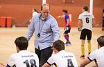 Almere - Zaalhockey  SCHC-Victoria (5-7)   .  coach coach Eelko van Roon. TopsportCentrum Almere.    COPYRIGHT KOEN SUYK