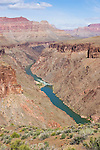 Arizona, Grand Canyon, Grand Canyon National Park, Hermit Rapids, Colorado River, Tonto Platform, Tonto Trail, Hermit - Bright Angel Loop Trail, Southwest, U.S.A.,