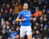 Christian Burgess of Portsmouth during Portsmouth vs AFC Wimbledon, Sky Bet EFL League 1 Football at Fratton Park on 11th January 2020