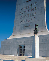Wright Brothers National Memorial, NC<br /> The Wright Brothers memorial located on Big Kill Devil Hill is a 60 ft pylon of gray granite