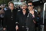 "THE HEAD CAT: DANNY B. HARVEY, LEMMY (Ian Frasier Kilmister), SLIM JIM PHANTOM (James McDonnell).arrives to the Sunset Strip Music Festival's ""Tribute to Slash"" at the House of Blues Sunset Strip, in recognition of the City of West Hollywood's official 'Slash Day'.West Hollywood, CA, USA. August 26, 2010. ©CelphImage"