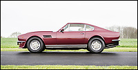 BNPS.co.uk (01202 558833)<br /> Pic: Bonhams/BNPS<br /> <br /> An Aston Martin once owned by comedy legend Rowan Atkinson - who spent years behind the wheel of a yellow mini as Mr Bean - has emerged for sale. <br /> <br /> Atkinson purchased this V8 Vantage in 1984 after his career took off following the booming success of The Black Adder, the first series of the iconic sitcom. <br /> <br /> The Olivier Award and BAFTA winning performer is said to have been drawn to the British marque as its models are 'more discreet' than flashy Ferraris. <br /> <br /> Bonhams auctioneer are selling the V8 from the Aston Martin Works in Newport Pagnell, Bucks, on May 13.