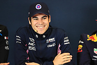 31st October 2019; Circuit of the Americas, Austin, Texas, United States of America; F1 United States Grand Prix, team arrival day; SportPesa Racing Point, Lance Stroll - Editorial Use