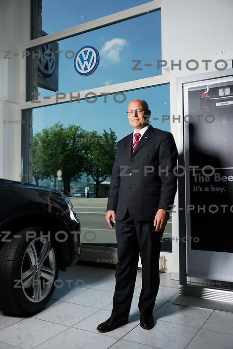Portrait und Interview mit Morten Hannesbo Chef der Amag, AMAG Automobil- und Motoren AG im Hauptsitz am Utoquai 49, am Freitag 25.05.12 ..Copyright © Zvonimir Pisonic