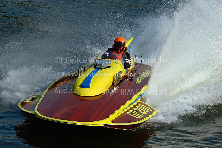 """Dick Delsener,  GP-200 """"Lauterbach Special"""", (1976 Grand Prix class Lauterbach hydroplane)"""