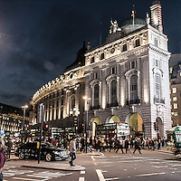 Regent's Street in Piccadilly Circus<br /> <br /> Regent's Street in Piccadilly Circus