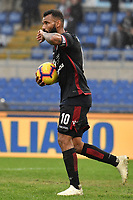 Joao Pedro of Cagliari celebrates after scoring a goal on penalty during the Serie A 2018/2019 football match between SS Lazio and Cagliari at stadio Olimpico, Roma, December 22, 2018 <br />  Foto Andrea Staccioli / Insidefoto