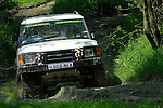 Land Rover Discovery competing at the ALRC National 2008 RTV Trial. The Association of Land Rover Clubs (ALRC) National Rallye is the biggest annual motor sport oriented Land Rover event and was hosted 2008 by the Midland Rover Owners Club at Eastnor Castle in Herefordshire, UK, 22 - 27 May 2008. --- No releases available. Automotive trademarks are the property of the trademark holder, authorization may be needed for some uses.