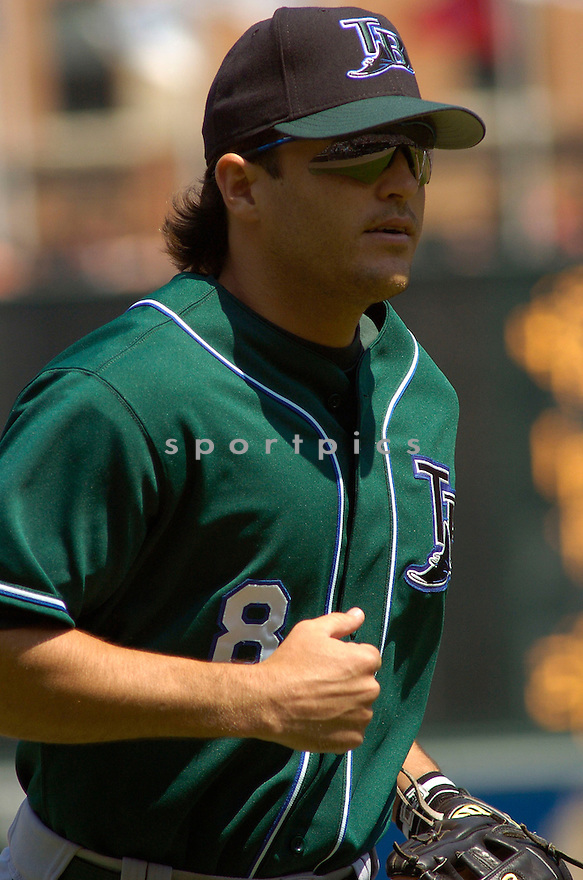 Alex Gonzalez in action during the Tampa Bay Devil Rays v. Baltimore Orioles game on May 1, 2005.....Devil Rays lost 4-7.....Chris Bernacchi/Sportpics..