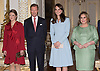 11.05.2017; Luxembourg: KATE MIDDLETON WITH THE GRAND DUKE AND DUCHESS OF LUXEMBOURG AND CROWN PRINCESS STEPHANIE<br /> at the Grand Ducal Palace, Luxembourg.<br /> Mandatory Photo Credit: &copy;Francis Dias/NEWSPIX INTERNATIONAL<br /> <br /> IMMEDIATE CONFIRMATION OF USAGE REQUIRED:<br /> Newspix International, 31 Chinnery Hill, Bishop's Stortford, ENGLAND CM23 3PS<br /> Tel:+441279 324672  ; Fax: +441279656877<br /> Mobile:  07775681153<br /> e-mail: info@newspixinternational.co.uk<br /> Usage Implies Acceptance of OUr Terms &amp; Conditions<br /> Please refer to usage terms. All Fees Payable To Newspix International