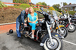 Paul Delaney and Ann Tiernan<br /> Classic Bike fundraiser for the Gary Kelly centre<br /> Picture Fran Caffrey www.newsfile.ie