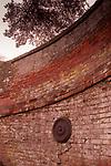 Small brick bridge in Eye Suffolk England