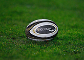 9th February 2018, Galway Sportsground, Galway, Ireland; Guinness Pro14 rugby, Connacht versus Ospreys; View of a Guinness PRO14 rugby ball
