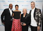 Kenny Leon, Lynda R. Diamond, Joy Abbott and Jerry Mitchell attend the SDC Foundation presents The Mr. Abbott Award honoring Kenny Leon at ESPACE on March 27, 2017 in New York City.