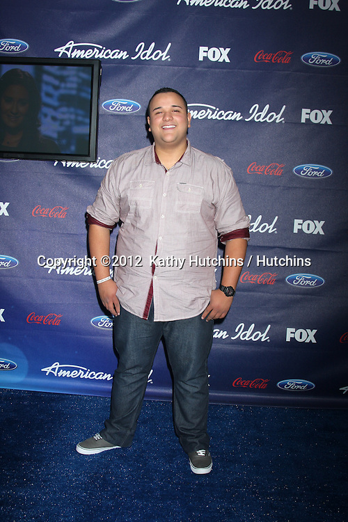 LOS ANGELES - MAR 1:  Jeremy Rosado.Colton Dixon arrives at the American Idol Season 11 Top 13 Party at the The Grove Parking Structure Rooftop on March 1, 2012 in Los Angeles, CA