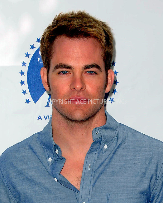 WWW.ACEPIXS.COM . . . . .  ....April 15 2012, LA....Chris Pine arriving at the 3rd Annual Milk And Bookies Story Time Celebration at the Skirball Cultural Center on April 15, 2012 in Los Angeles, California.....Please byline: PETER WEST - ACE PICTURES.... *** ***..Ace Pictures, Inc:  ..Philip Vaughan (212) 243-8787 or (646) 769 0430..e-mail: info@acepixs.com..web: http://www.acepixs.com