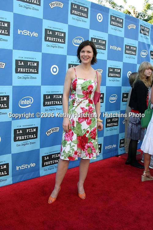 """Josie Davis.""""Little Miss Sunshine"""" Premiere.Wadsworth Theater.Westwood, CA.July 2, 2006.©2006 Kathy Hutchins / Hutchins Photo...."""
