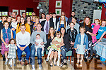 The christening party of Thomas Daniel Duggan from Shanakill in O'Donnells Bar on Saturday.<br /> Seated l to r; Andrew Duggan (GF), Thomas, baby Thomas Duggan, mom Louise O'Sullivan, Emily Duggan and Caoitrina O'Sullivan (GM)