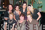 FUN: Having fun at Fitzgerald's restaurant, Listowel for women's Christmas were front l-r: Philly Houlihan, Eileen Ann Cahill and Joan Hussey. Back l-r: Norma Costello, Ann O? Fuara?in, Julienne O'Grady, all Ballyheigue and Lisa Breen, Listowel..   Copyright Kerry's Eye 2008