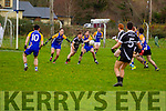 Action from the Senior Football League Div 3 Round 11 Ballymacelligott V Ardfert at Ballymacelligott GAA on Sunday