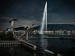Le jet d'eau de Genève est d'une hauteur de 140 mètres. C'est l'emblème de la ville de Genève, en Suisse. Genève