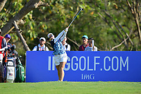 PATTAYA, THAILAND - FEBRUARY 22: Moriya Jutanugarn of Thailand on the 2nd tee during the second round of the Honda LPGA Thailand 2019 at Siam Country Club Pattaya (Old Course), Pattaya, Thailand on February 22, 2019.<br /> .<br /> .<br /> .<br /> (Photo by: Naratip Golf Srisupab/SEALs Sports Images)<br /> .<br /> Any image use must include a mandatory credit line adjacent to the content which should read: Naratip Golf Srisupab/SEALs Sports Images