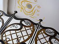 Jugendstil Caf&egrave; Schokocafe Maximilian Delikateso im Palais Palugyay am Hauptplatz Hlavne nam., Bratislava, Bratislavsky kraj, Slowakei, Europa<br /> art nouveau Caf&egrave; Schokocafe Maximilian Delikateso in Palais Palugyay at main square Hlavne nam., Bratislava, Bratislavsky kraj, Slovakia, Europe