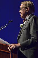 Donald Dell '60, Honoree, Blue Leader '11, Yale University Athletics. Ball and Awards Presentation, Lanman Center, Payne Whitney Gymnasium.