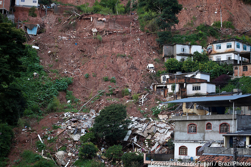 Consequences of the January 2011 Nova Friburgo flooding. A series of floods, landslides and mudslides took place in several towns of the Mountainous Region ( Regiao Serrana ), in the Brazilian state of Rio de Janeiro. According to the National Institute for Space Research, the precipitation was caused by a Humidity Convergence Zone, a lesser form of the South Atlantic Convergence Zone. Nova Friburgo was the city most heavily affected by the floods. It is considered one of the worst weather-related natural disaster in Brazilian history.