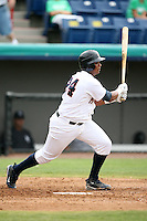 April 15, 2009:  Catcher Martin Maldonado of the Brevard County Manatees, Florida State League Class-A affiliate of the Milwaukee Brewers, during a game at Space Coast Stadium in Viera, FL.  Photo by:  Mike Janes/Four Seam Images