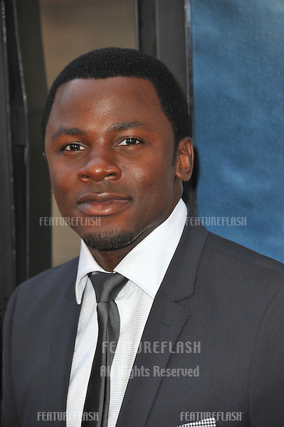 "Derek Luke at the world premiere of his movie ""Seeking a Friend for the End of the World"" at Regal Cinemas LA Live..June 19, 2012  Los Angeles, CA.Picture: Paul Smith / Featureflash"