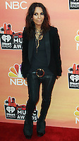 LOS ANGELES, CA, USA - MAY 01: Linda Perry at the iHeartRadio Music Awards 2014 held at The Shrine Auditorium on May 1, 2014 in Los Angeles, California, United States. (Photo by Celebrity Monitor)