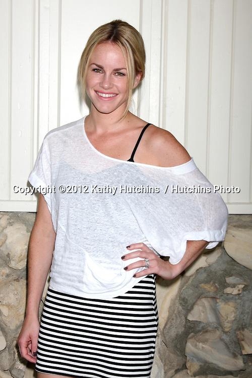 LOS ANGELES - JUL 21:  Julie Marie Berman arrives at the 2012 General Hospital Fan Club Luncheon at Sportsman's Lodge  on July 21, 2012 in Studo City, CA