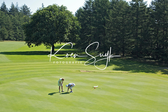 LEUSDEN - Hole 11. Golfclub De Hoge Kleij. COPYRIGHT KOEN SUYK