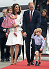 Princess Charlotte, Prince George, Kate & Will, Poland