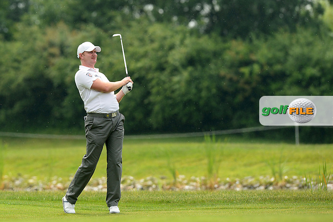 Richard McEvoy of England during Round 4 of the Lyoness Open, Diamond Country Club, Atzenbrugg, Austria. 12/06/2016<br /> Picture: Richard Martin-Roberts / Golffile<br /> <br /> All photos usage must carry mandatory copyright credit (&copy; Golffile | Richard Martin- Roberts)