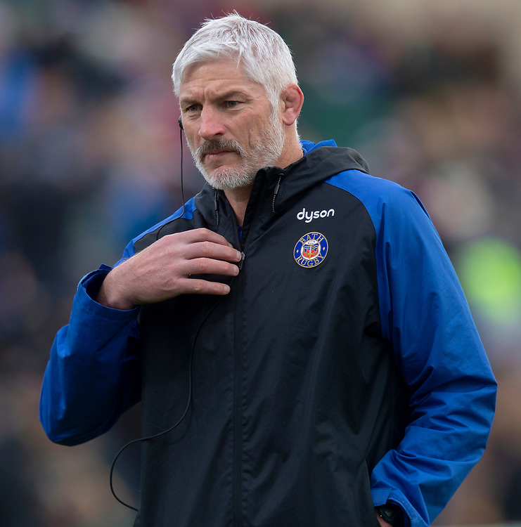 Bath Rugby's Head Coach Todd Blackadder<br /> <br /> Photographer Bob Bradford/CameraSport<br /> <br /> European Rugby Heineken Champions Cup Pool 1 - Bath Rugby v Wasps - Saturday 12th January 2019 - The Recreation Ground - Bath<br /> <br /> World Copyright © 2019 CameraSport. All rights reserved. 43 Linden Ave. Countesthorpe. Leicester. England. LE8 5PG - Tel: +44 (0) 116 277 4147 - admin@camerasport.com - www.camerasport.com
