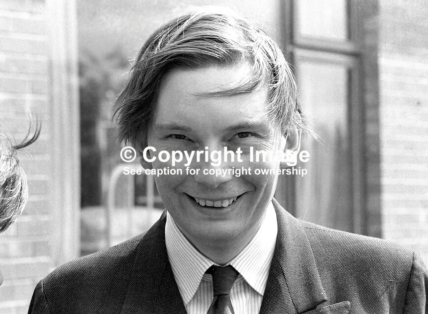 Paul Channon, MP, Conservative Party, UK, Minister of State, N Ireland Office, 197205000321.<br />