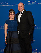 Gary Cohn, former Director of the National Economic Council, and his wife, Lisa Pevaroff-Cohn, arrive for the 2019 White House Correspondents Association Annual Dinner at the Washington Hilton Hotel on Saturday, April 27, 2019.<br /> Credit: Ron Sachs / CNP<br /> <br /> (RESTRICTION: NO New York or New Jersey Newspapers or newspapers within a 75 mile radius of New York City)
