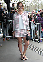 Francesca Newman-Young arriving for the TRIC Awards 2014, at Grosvenor House Hotel, London. 11/03/2014 Picture by: Alexandra Glen / Featureflash