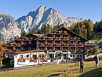 ITA, Italien, Suedtirol, Meran 2000: Ski- und Wandergebiet oberhalb Merans, Hotel Falzleben   ITA, Italy, South Tyrol, Alto Adige, Merano 2000: ski and hinking area above Merano, Hotel Falzleben
